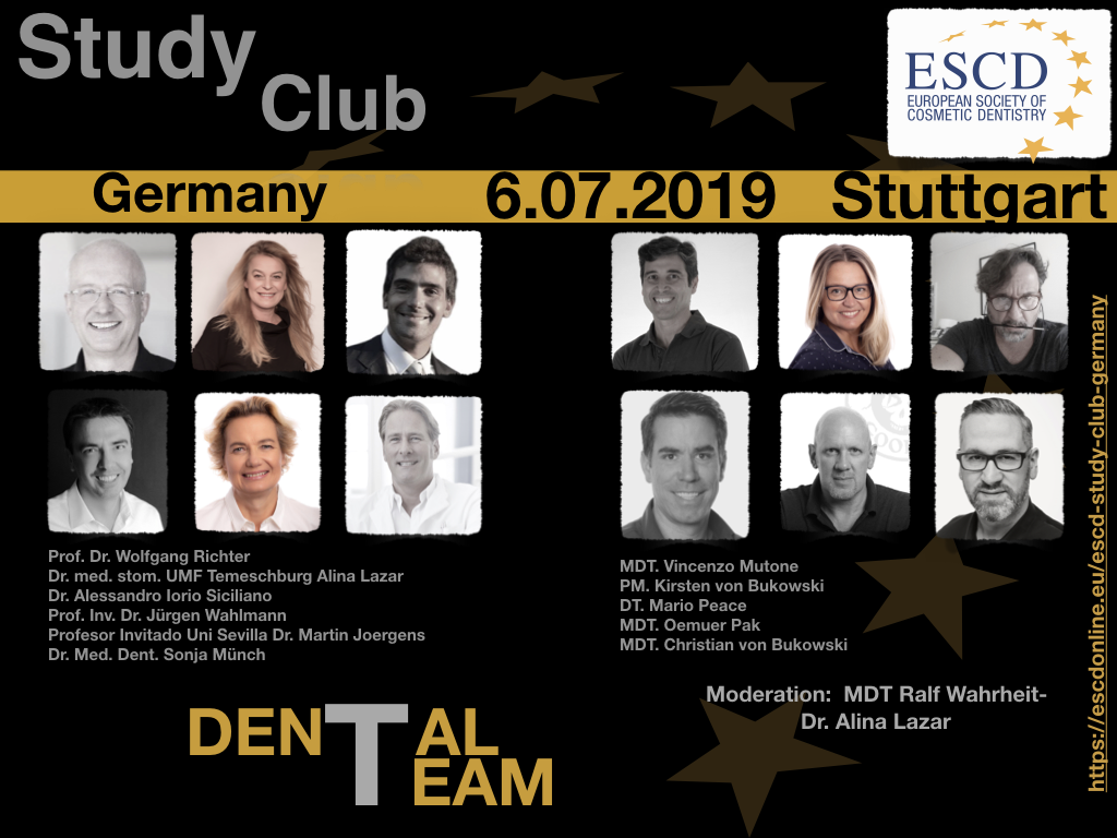 ESCD Study Club Germany announcement flyer