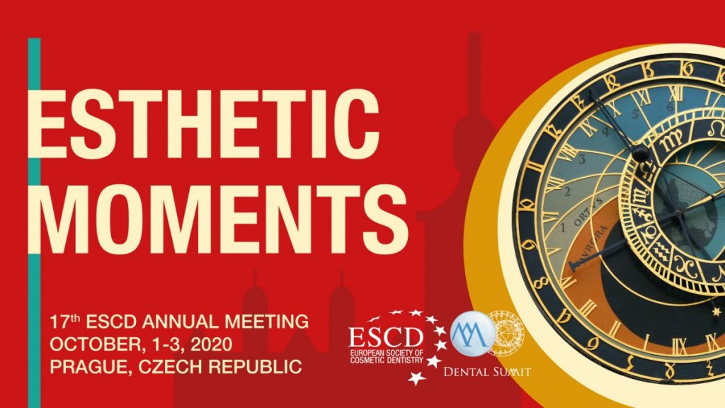 17th ESCD Annual Meeting Esthetic Moments,  1-3 Oct 2020, Prague