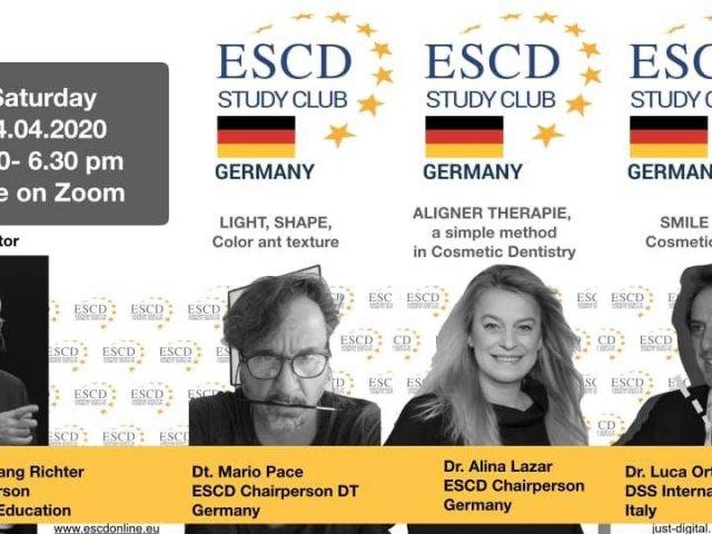 ESCD Study Club Germany online